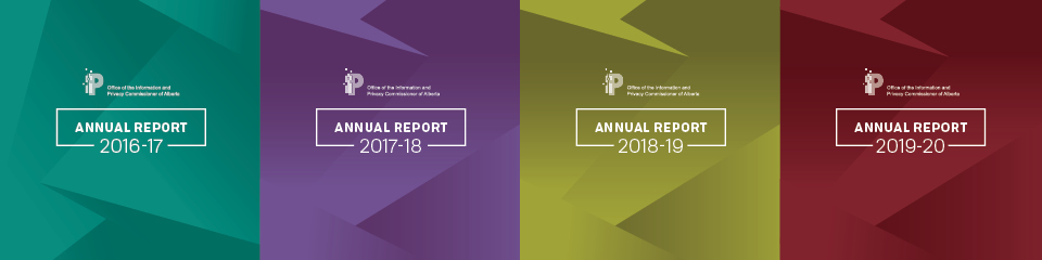 OIPC 2020 Annual Report Covers