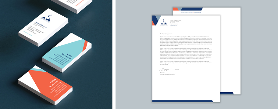 AMA Business cards and Letterhead